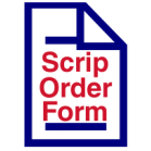 Fillable Scrip Order Form